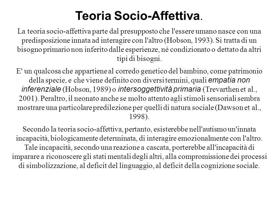 Teoria Socio-Affettiva.