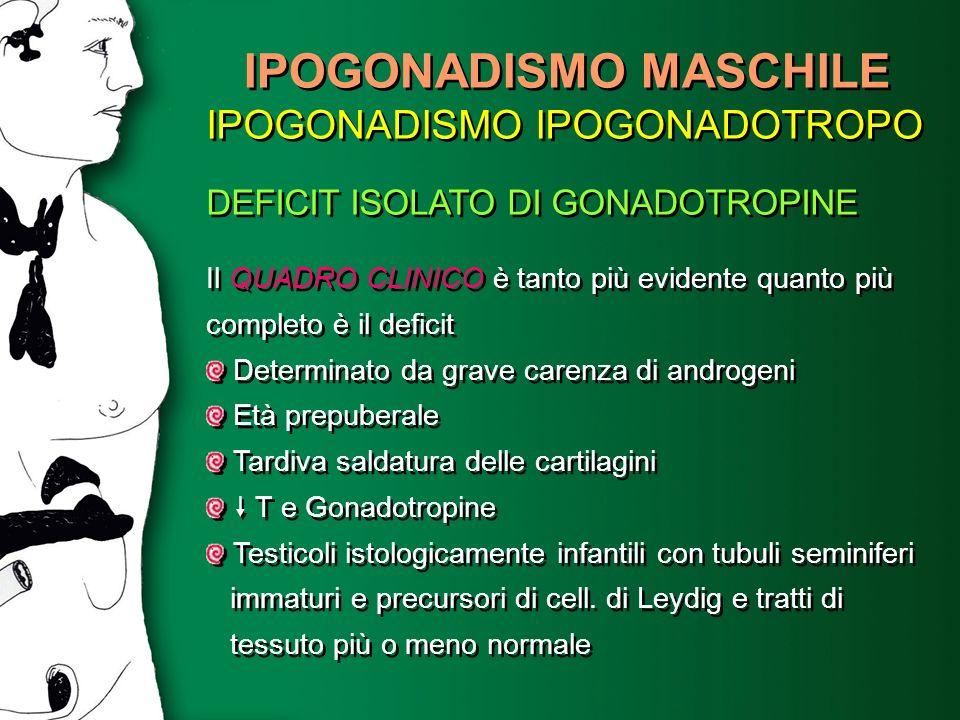 IPOGONADISMO MASCHILE