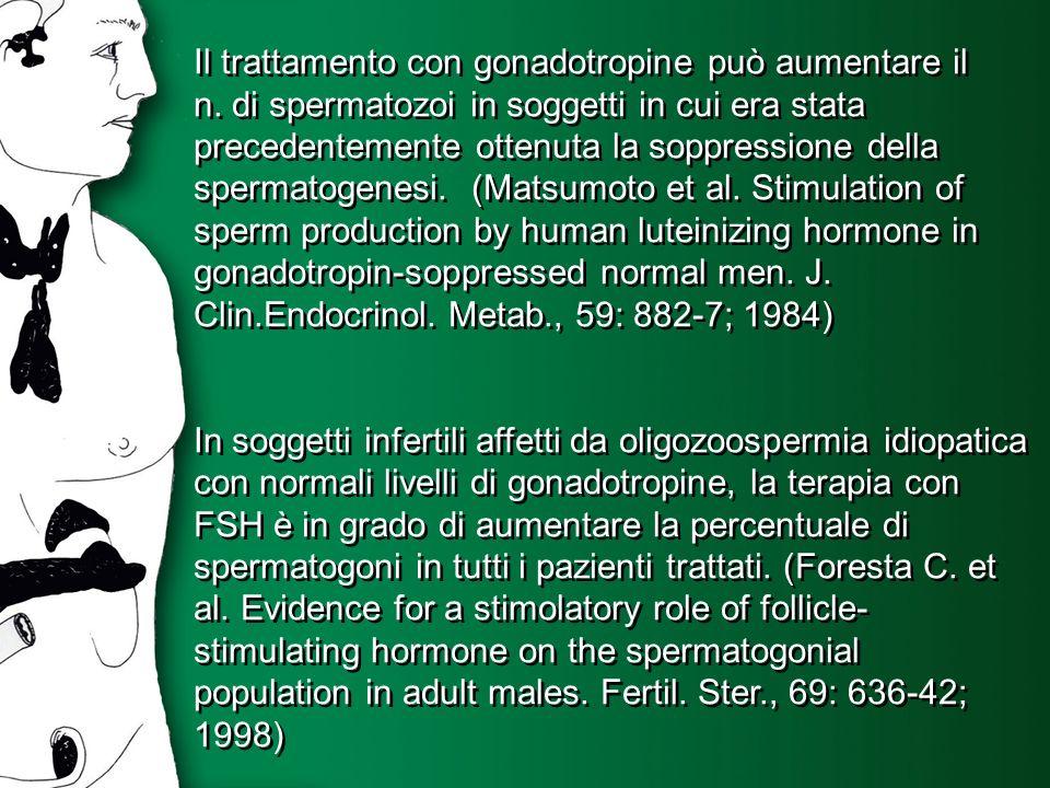 Il trattamento con gonadotropine può aumentare il n