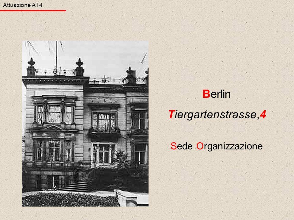 Attuazione AT4 Berlin Tiergartenstrasse,4 Sede Organizzazione