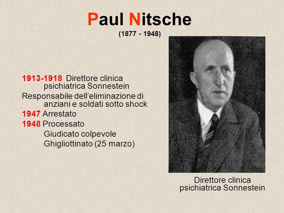 Direttore clinica psichiatrica Sonnestein