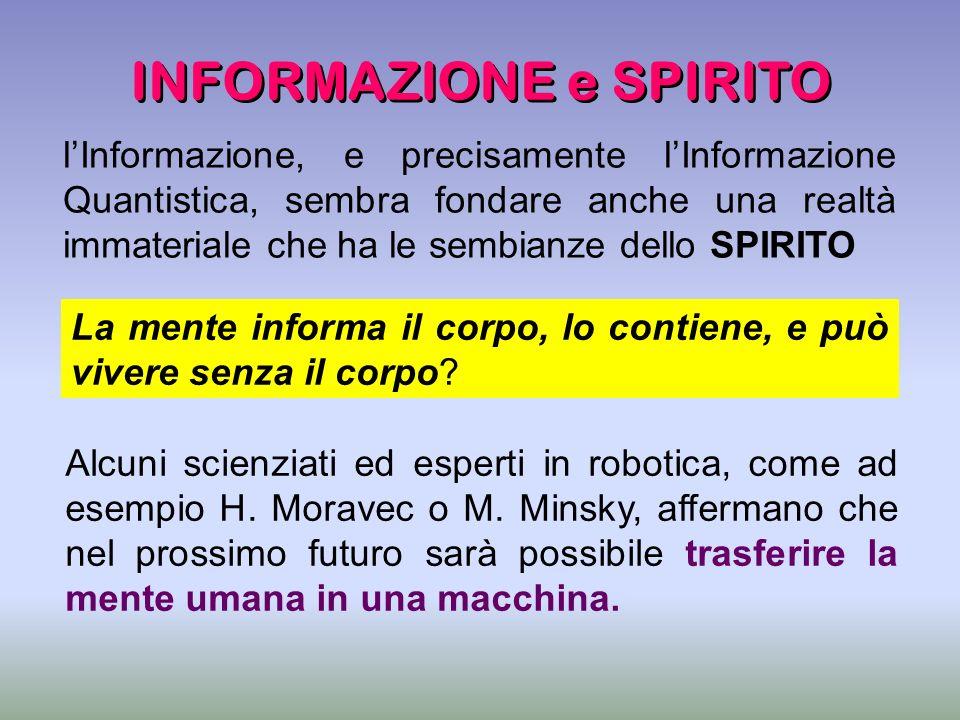 INFORMAZIONE e SPIRITO