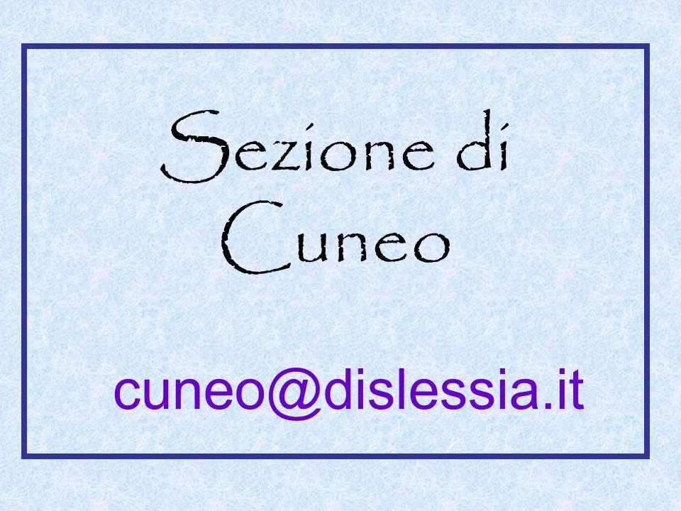 Sezione di Cuneo cuneo@dislessia.it