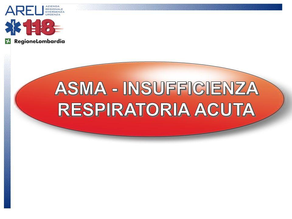 ASMA - INSUFFICIENZA RESPIRATORIA ACUTA
