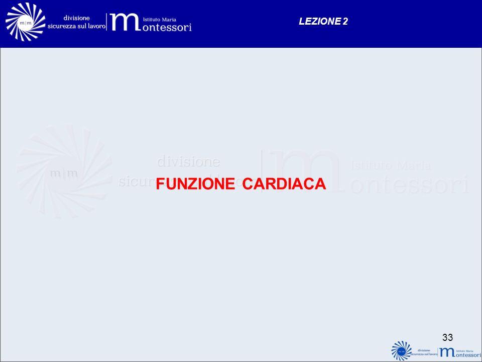 LEZIONE 2 FUNZIONE CARDIACA