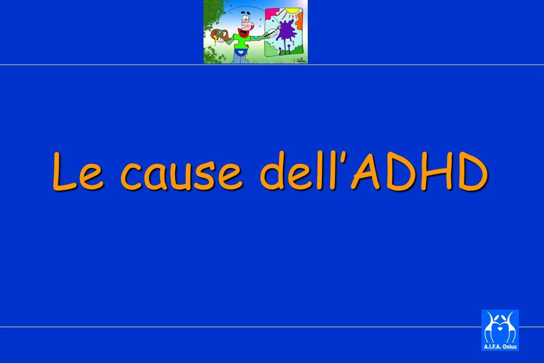 Le cause dell'ADHD