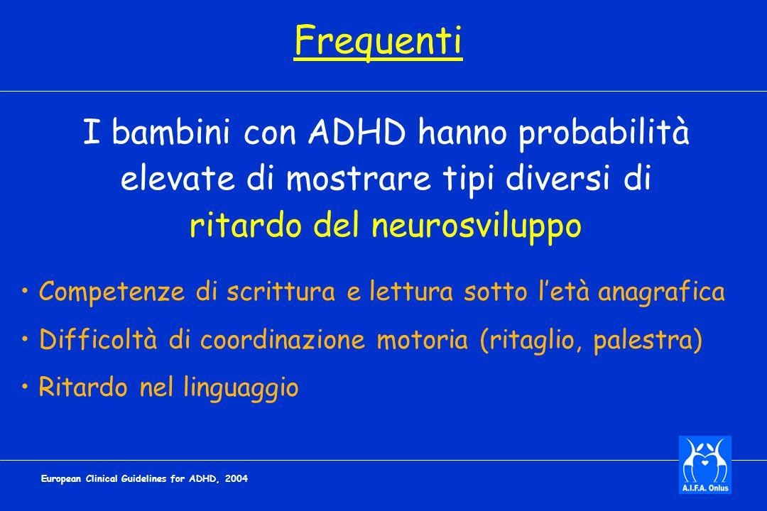 Frequenti I bambini con ADHD hanno probabilità
