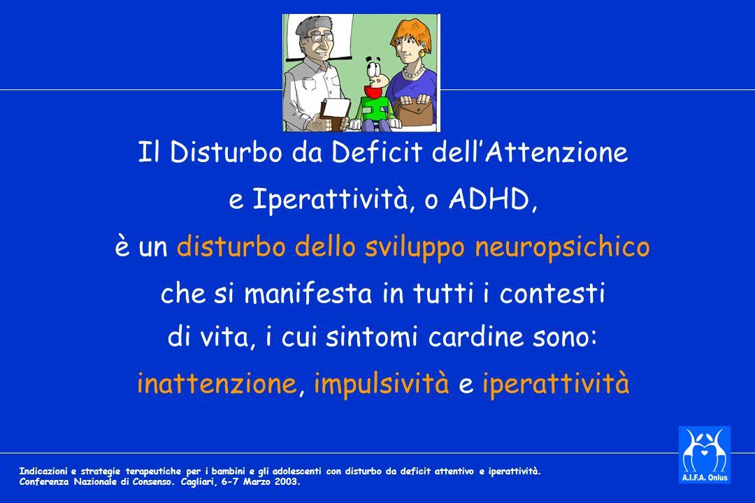 Il Disturbo da Deficit dell'Attenzione e Iperattività, o ADHD,