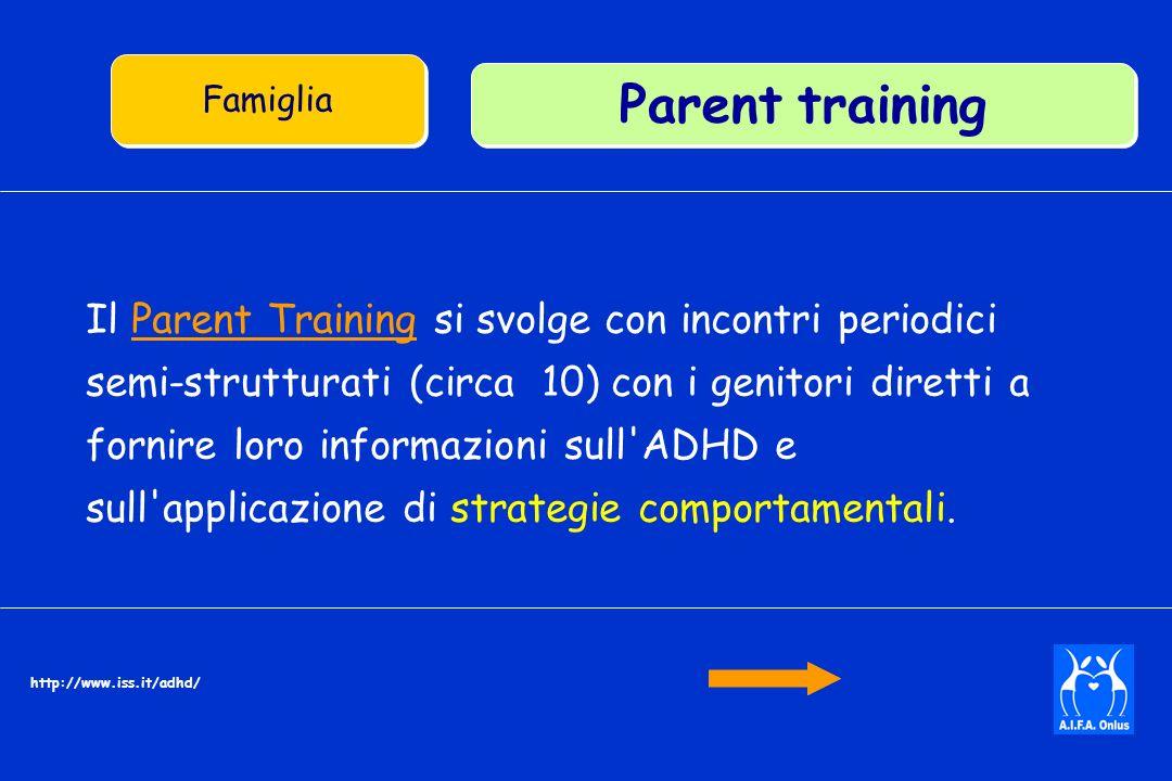 Famiglia Parent training.