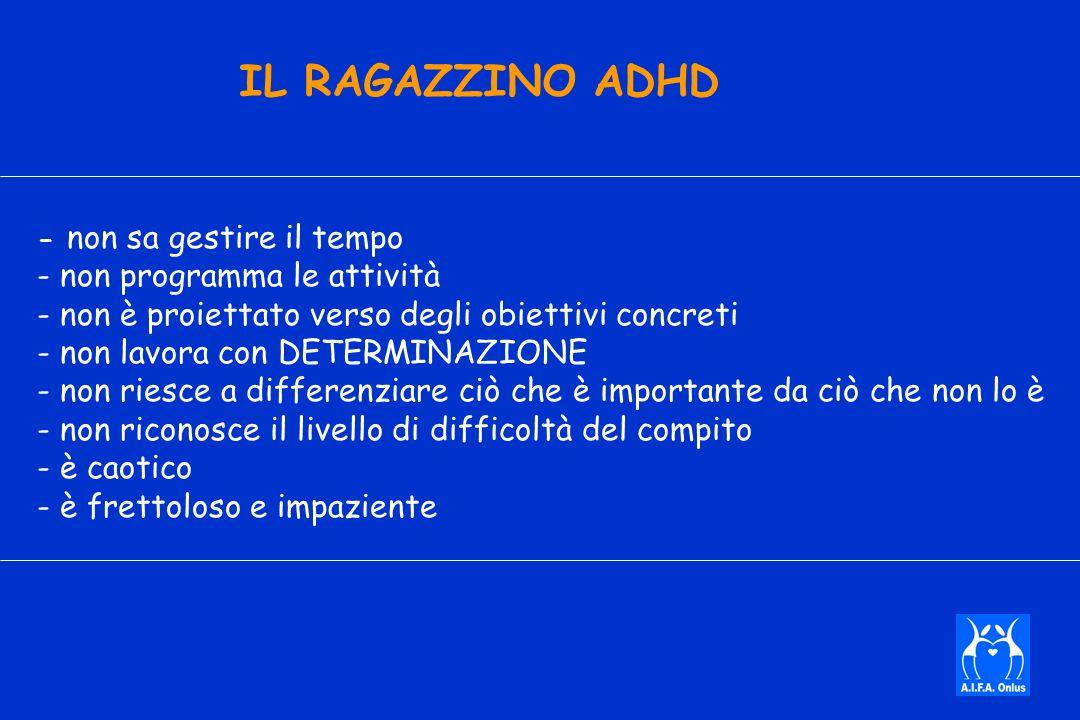 IL RAGAZZINO ADHD