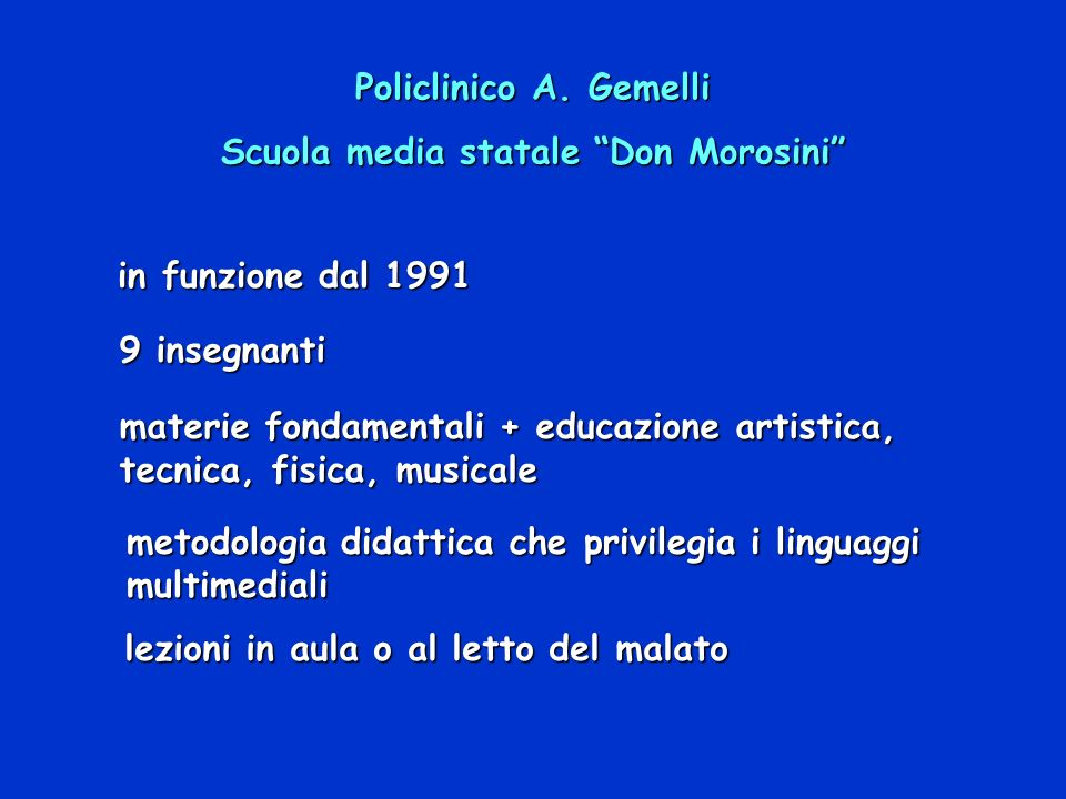 Scuola media statale Don Morosini