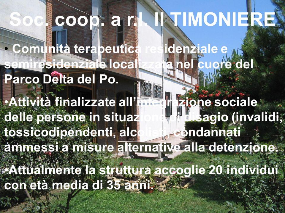 Soc. coop. a r.l. Il TIMONIERE