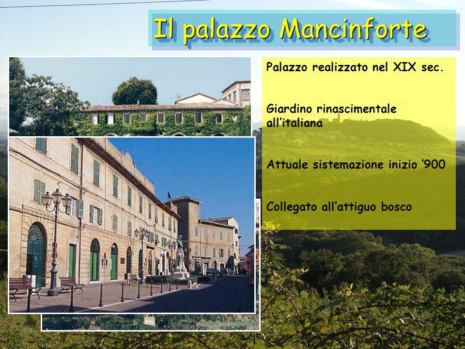 Il palazzo Mancinforte