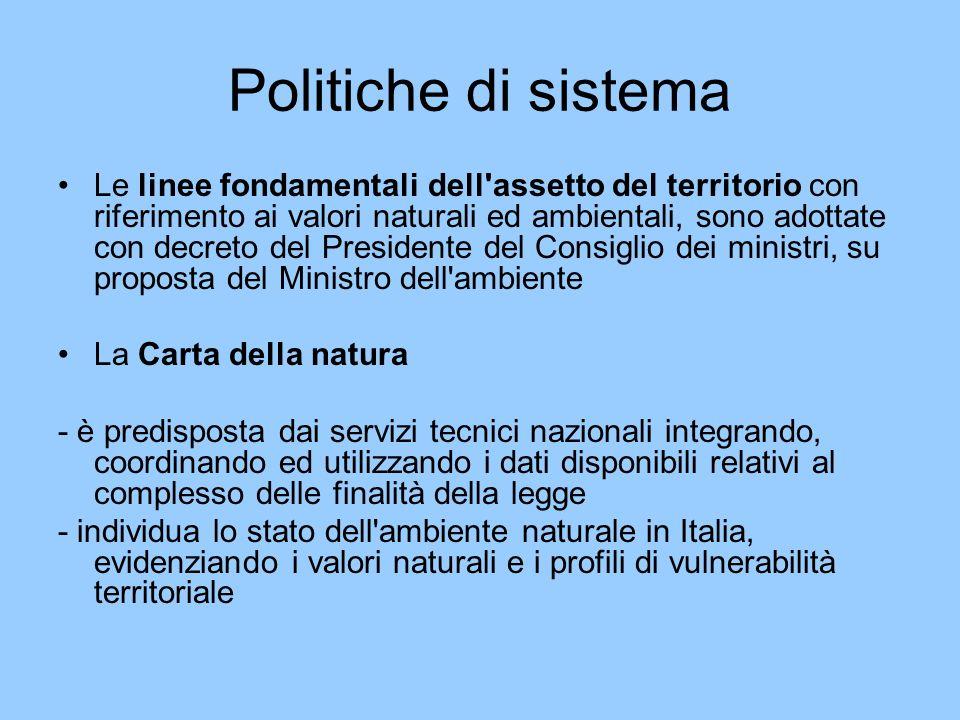 Politiche di sistema