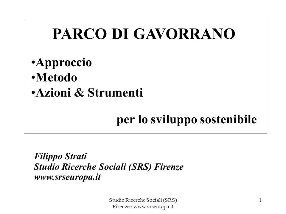 Studio Ricerche Sociali (SRS) Firenze / www.srseuropa.it