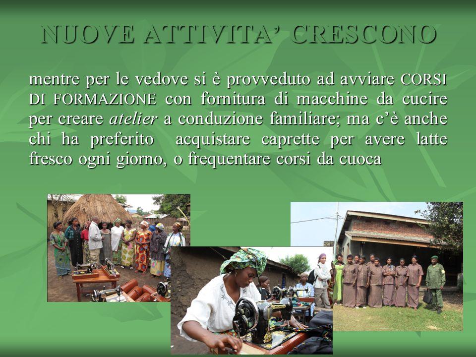 NUOVE ATTIVITA' CRESCONO