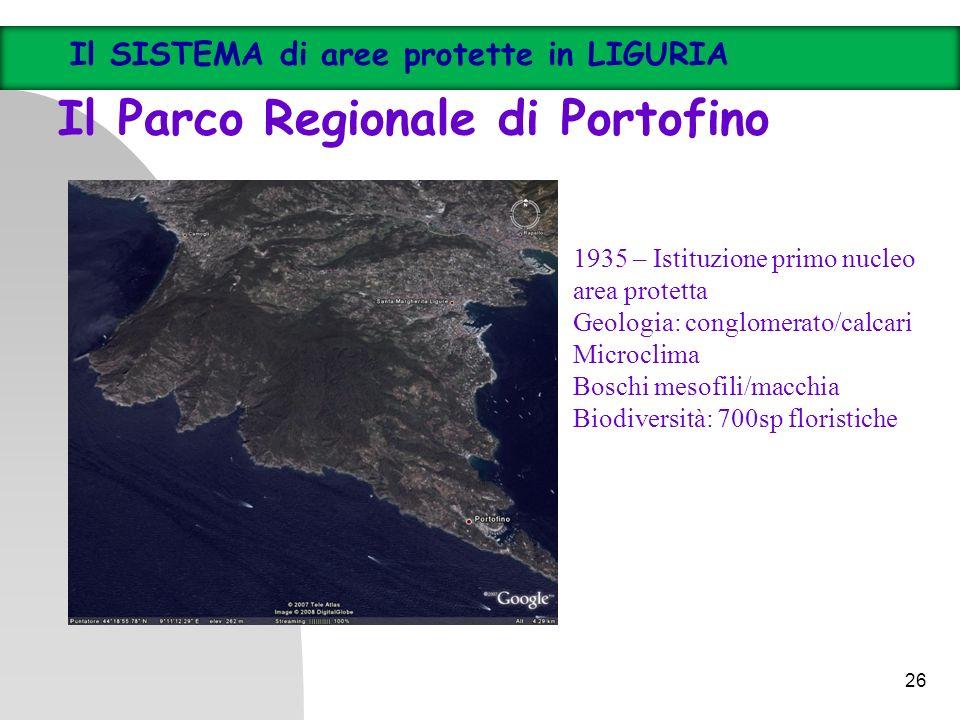 Il Parco Regionale di Portofino
