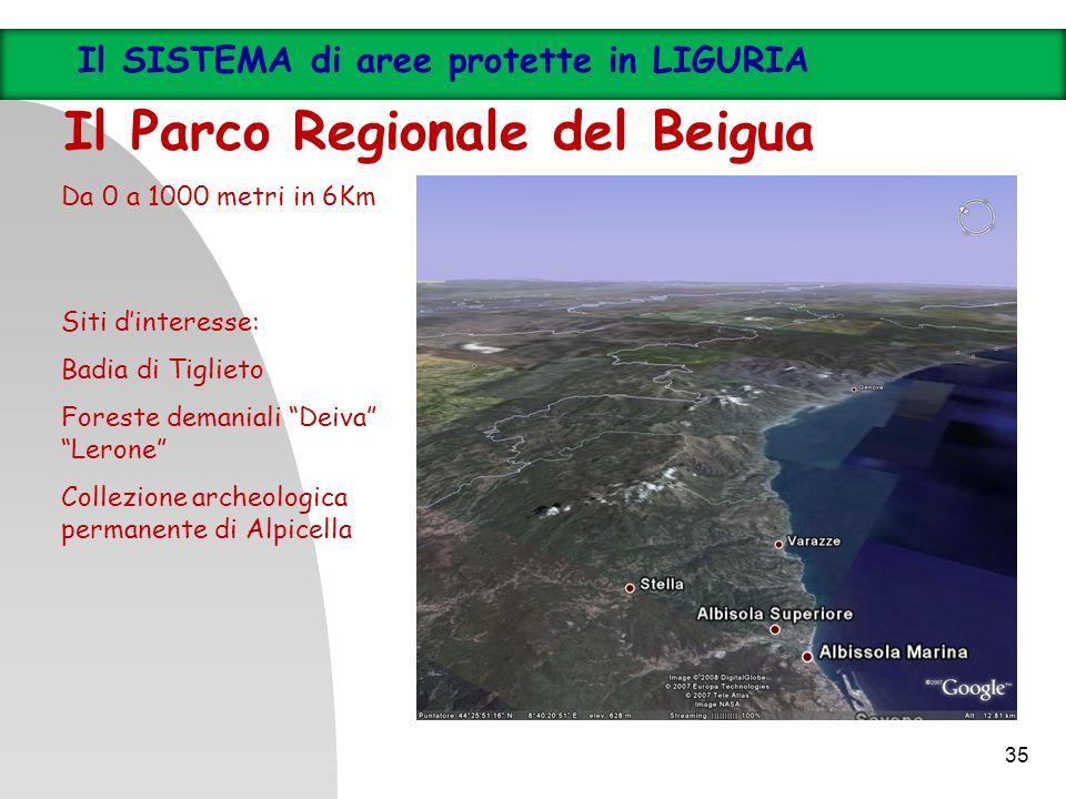Il Parco Regionale del Beigua