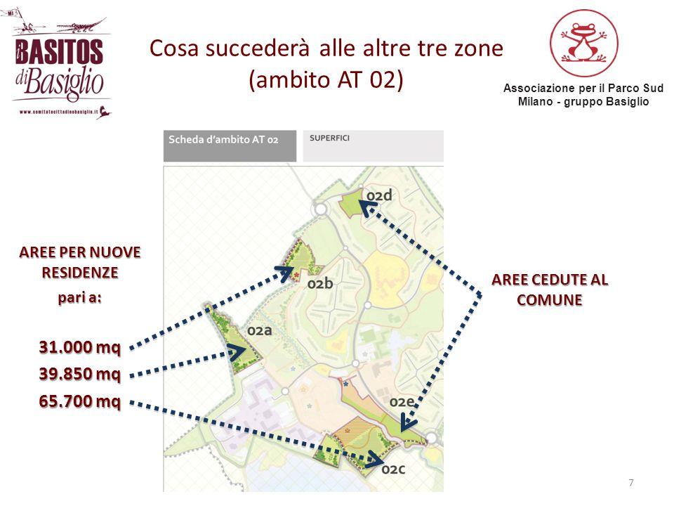 Cosa succederà alle altre tre zone (ambito AT 02)