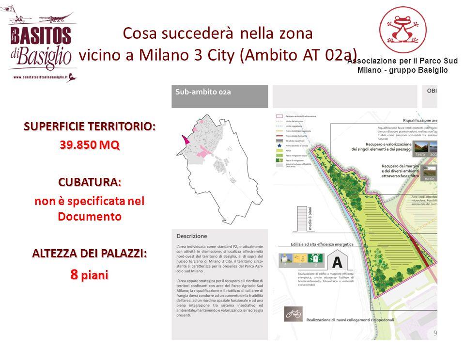 Cosa succederà nella zona vicino a Milano 3 City (Ambito AT 02a)