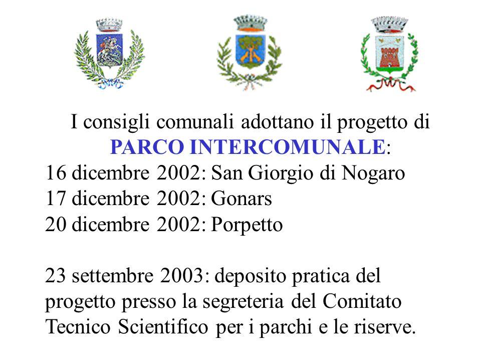I consigli comunali adottano il progetto di PARCO INTERCOMUNALE: