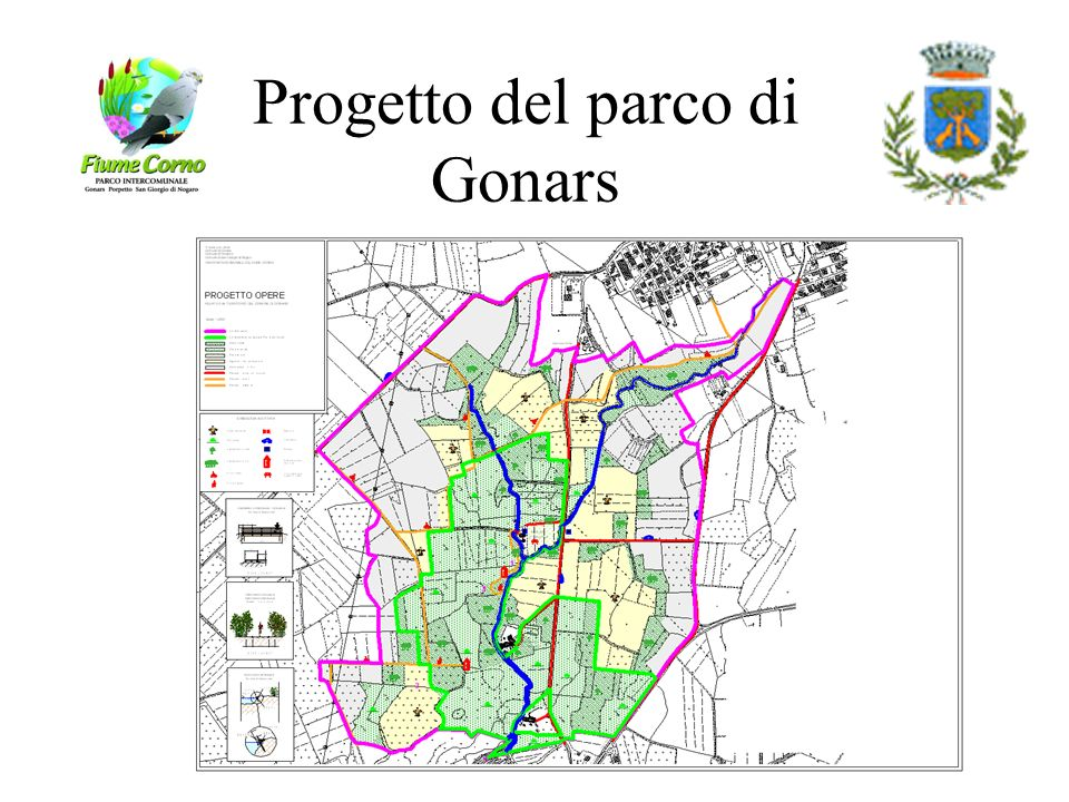 Progetto del parco di Gonars