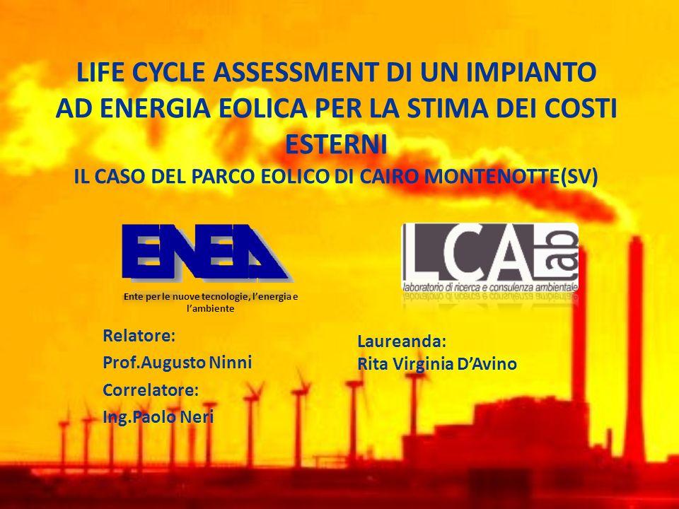 Relatore: Prof.Augusto Ninni Correlatore: Ing.Paolo Neri