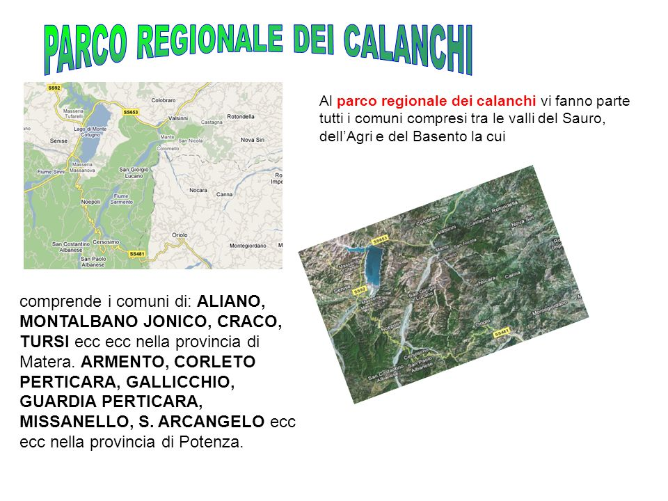 PARCO REGIONALE DEI CALANCHI