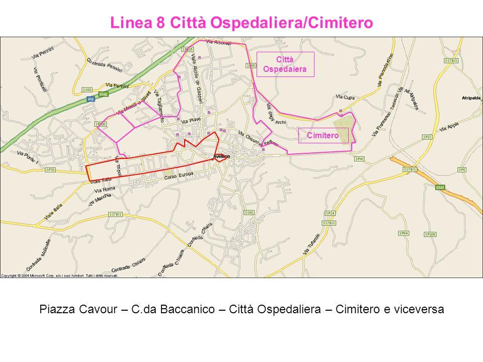 Linea 8 Città Ospedaliera/Cimitero