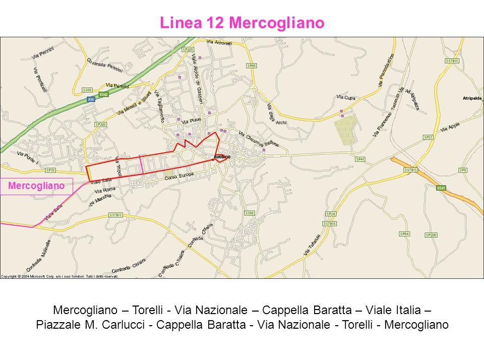 Linea 12 Mercogliano Mercogliano.