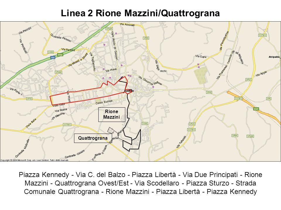 Linea 2 Rione Mazzini/Quattrograna