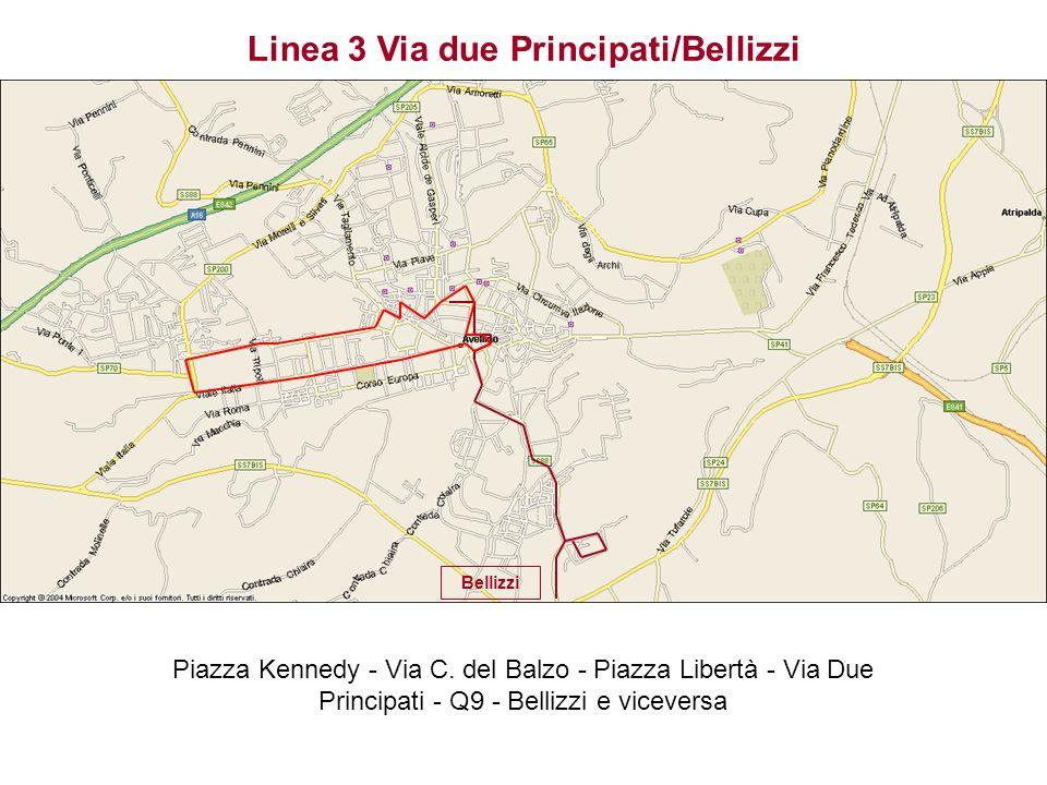 Linea 3 Via due Principati/Bellizzi