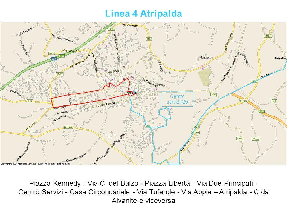 Linea 4 Atripalda Centro servizi/Q9.