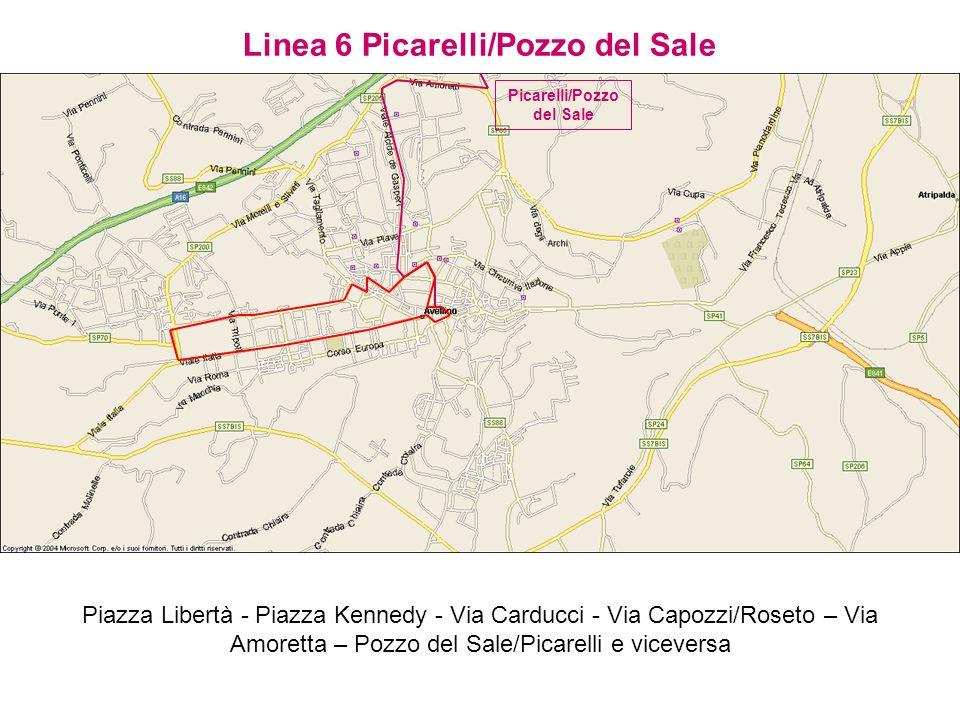 Linea 6 Picarelli/Pozzo del Sale Picarelli/Pozzo del Sale