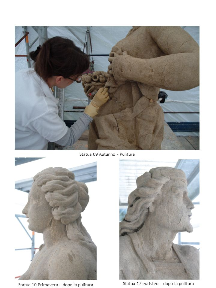 Statua 09 Autunno - Pulitura
