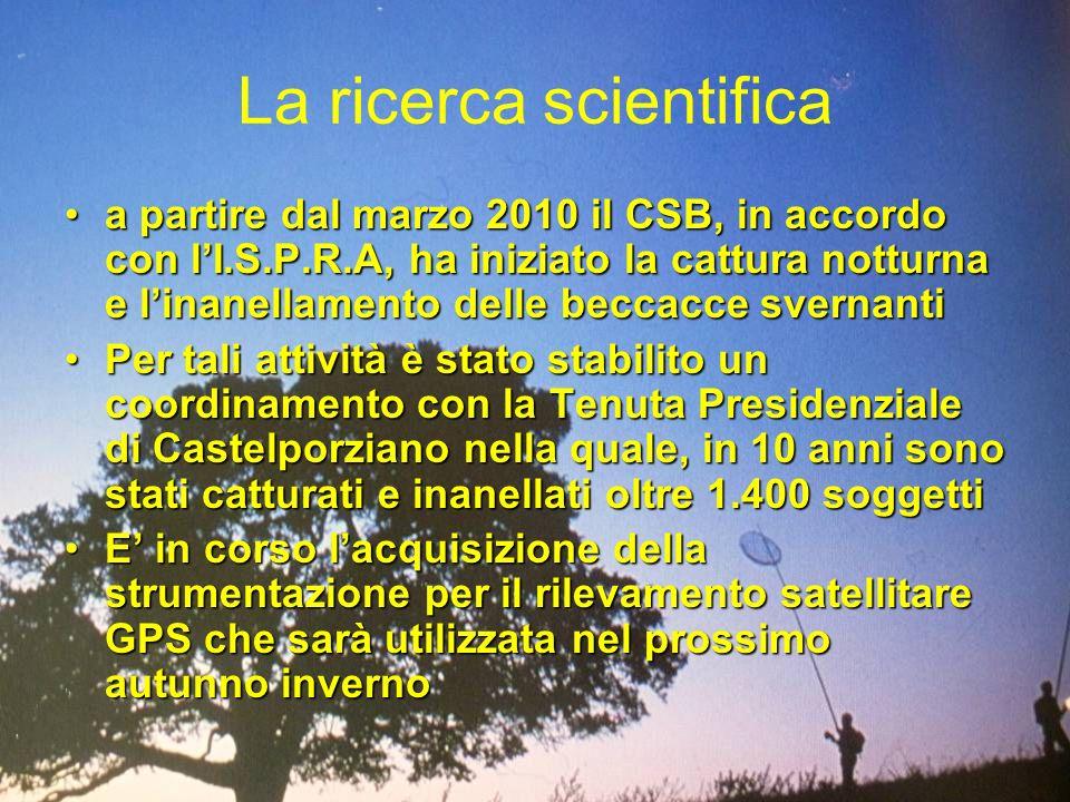 La ricerca scientifica