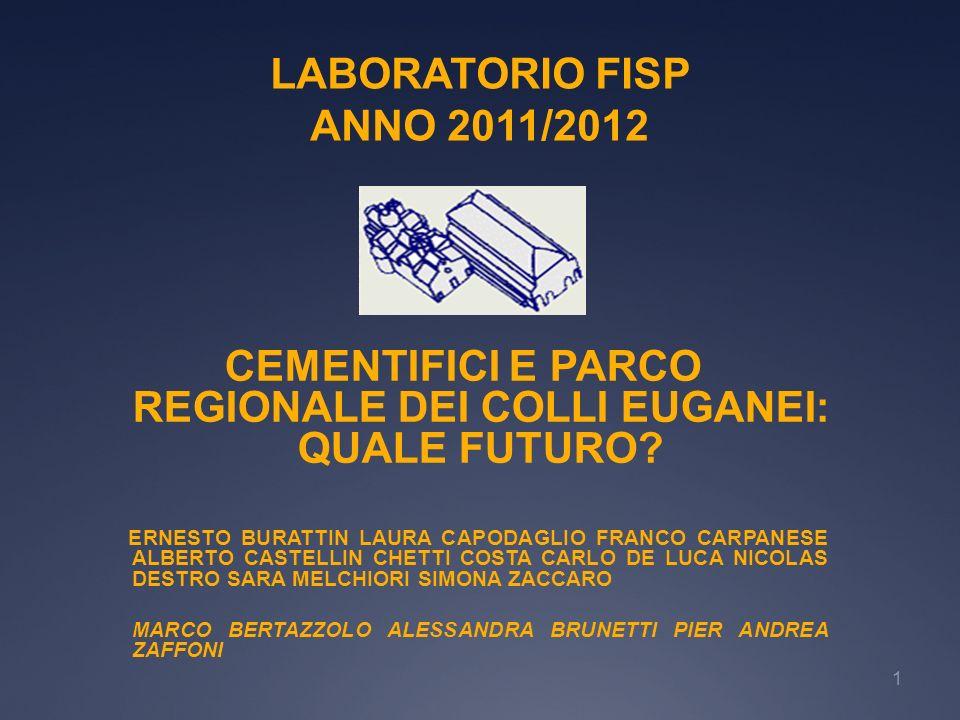 LABORATORIO FISP ANNO 2011/2012