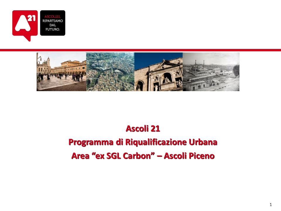 Ascoli 21 Programma di Riqualificazione Urbana Area ex SGL Carbon – Ascoli Piceno