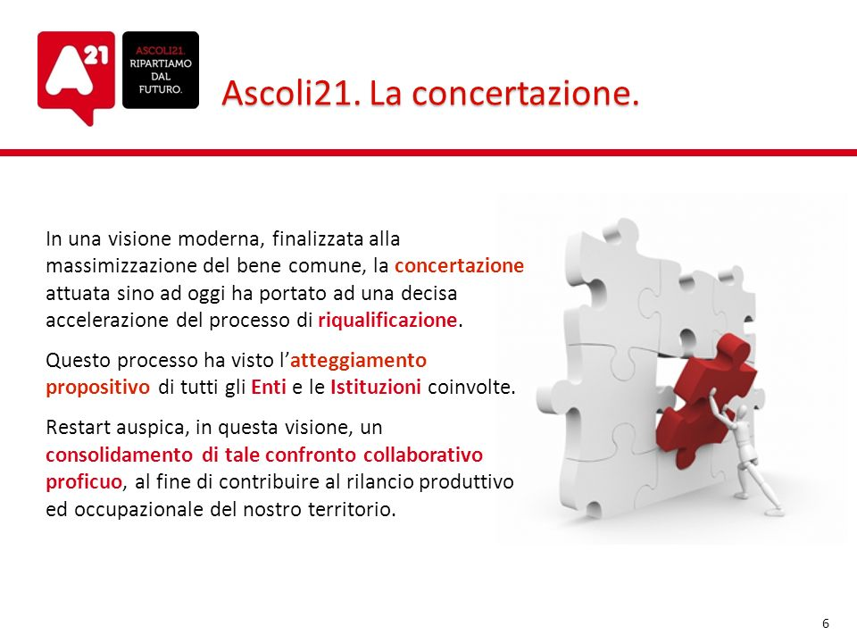 Ascoli21. La concertazione.