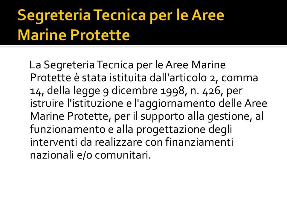 Segreteria Tecnica per le Aree Marine Protette