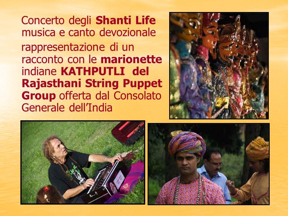 Concerto degli Shanti Life musica e canto devozionale