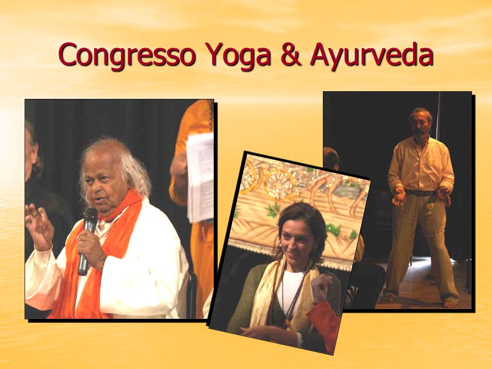 Congresso Yoga & Ayurveda