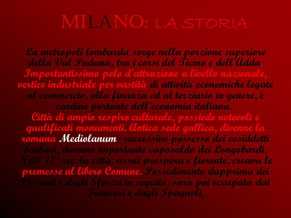 Milano: LA STORIA