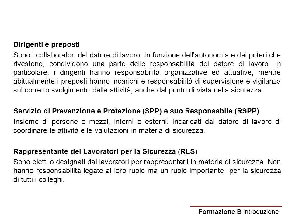 Servizio di Prevenzione e Protezione (SPP) e suo Responsabile (RSPP)