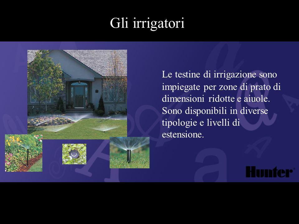 Gli irrigatori