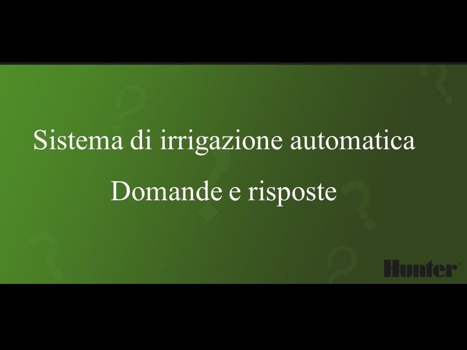 Sistema di irrigazione automatica