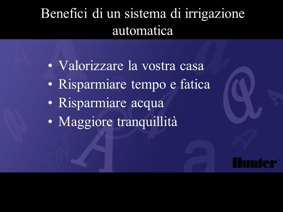 Benefici di un sistema di irrigazione automatica