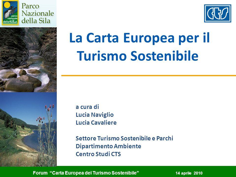La Carta Europea per il Turismo Sostenibile