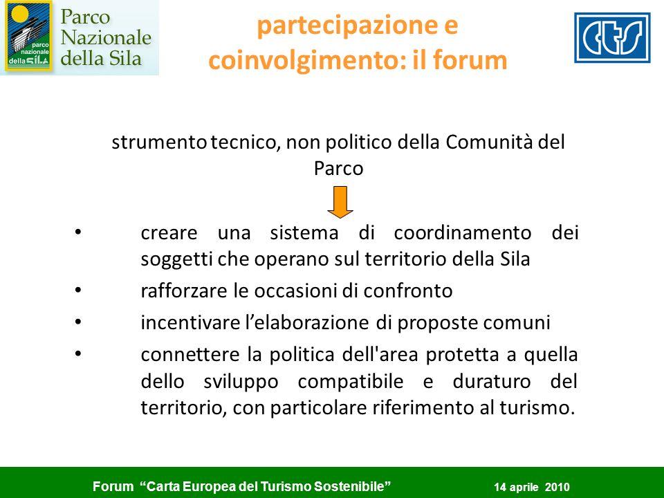 partecipazione e coinvolgimento: il forum