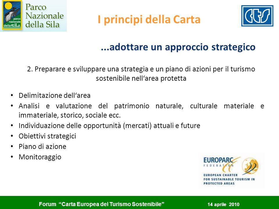 ...adottare un approccio strategico